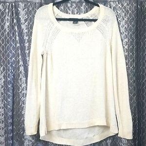 DKNY Jeans Cream Sweater